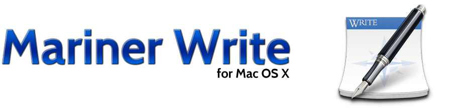 Mariner Write from Mariner Software