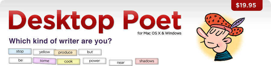 Desktop Poet from Mariner Software