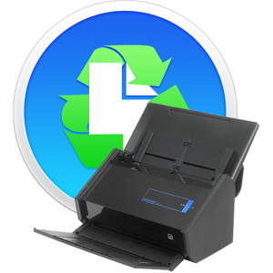 Paperless softare and ScanSnap scanner.