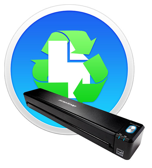 Paperless softare and ScanSnap iX100 scanner.