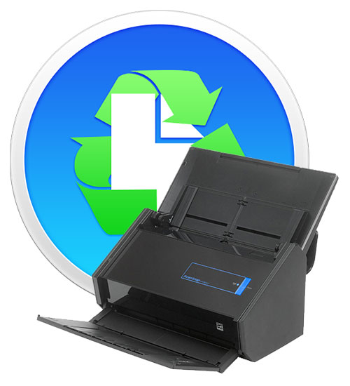 Paperless softare and ScanSnap iX500 scanner.